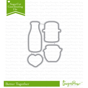 SugarPea Designs BETTER TOGETHER SugarCuts Dies spd-00272