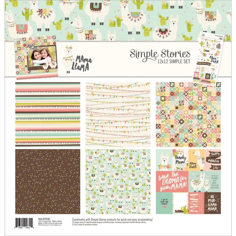 Simple Stories MAMA LLAMA 12 x 12 Collection Kit 10162 zoom image