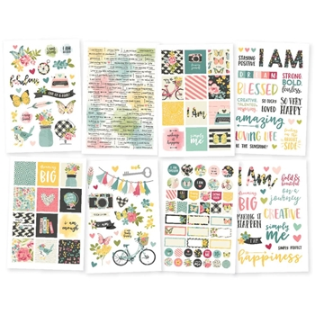 Simple Stories I AM 4 x 6 Stickers 10041