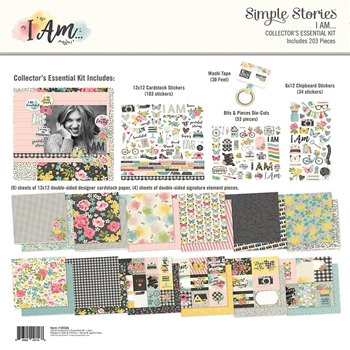 Simple Stories I AM 12 x 12 Collector's Essential Kit 10046