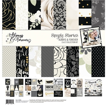 Simple Stories ALWAYS & FOREVER 12 x 12 Collection Kit 10058