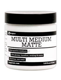 Ranger 4 ounce MULTI MEDIUM MATTE Paint Glue INK41535