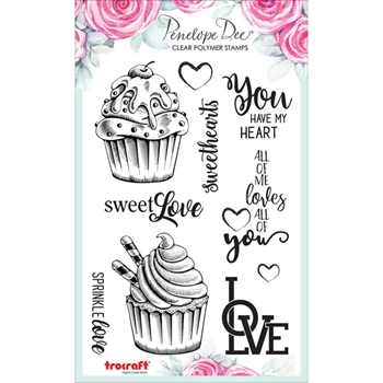 Penelope Dee COCOA LOVE Clear Stamps pd1311