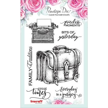 Penelope Dee NOTABLE Clear Stamps pd1092