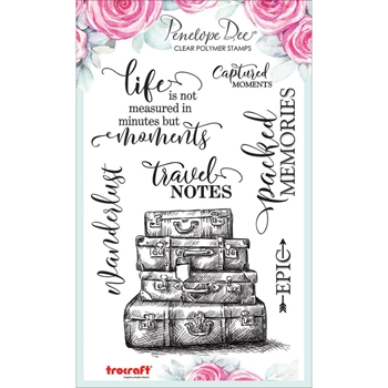 Penelope Dee GO SEE DO Clear Stamps pd1361