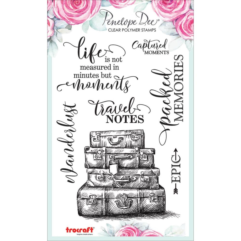 Penelope Dee GO SEE DO Clear Stamps pd1361 zoom image