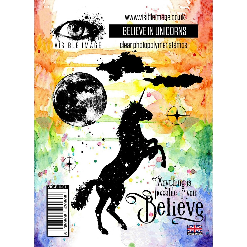 Believe in Unicorns Stamp