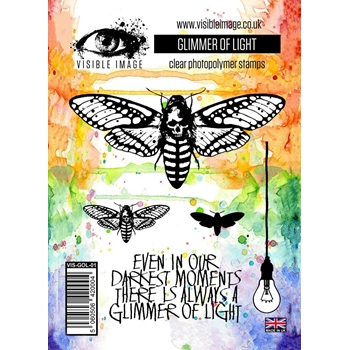 Visible Image GLIMMER OF LIGHT Clear Stamp Set VIS-GOL-01