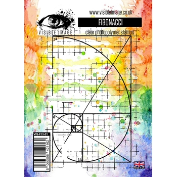 Visible Image FIBONACCI Clear Stamp Set VIS-FCI-01