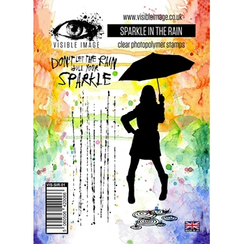 Visible Image SPARKLE IN THE RAIN Clear Stamp Set VIS-SIR-01