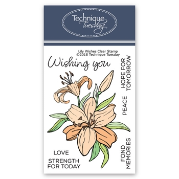 Technique Tuesday LILY WISHES Clear Stamps 02623