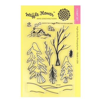 Waffle Flower WINTER TIME Clear Stamp Set 271157