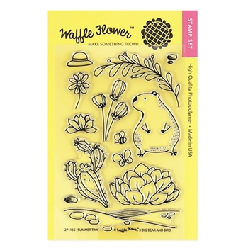 Waffle Flower SUMMER TIME Clear Stamp Set 271155