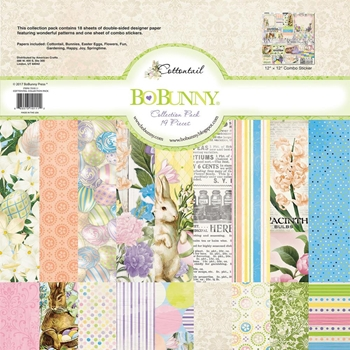 BoBunny 12 x 12 COTTONTAIL Collection Pack 7310111