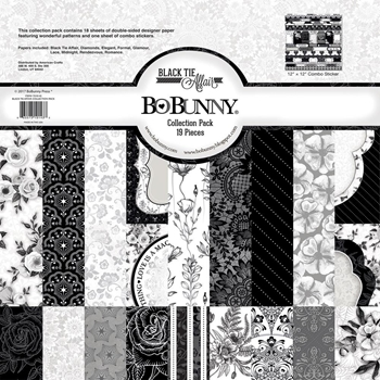 BoBunny 12 x 12 BLACK TIE AFFAIR Collection Pack 7310143