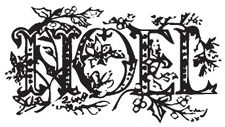 Tim Holtz Rubber Stamp NOEL Christmas Stampers Anonymous K3-1249 Preview Image