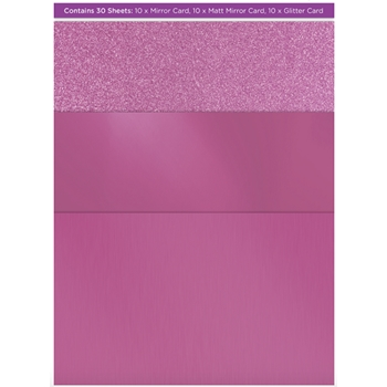 Crafter's Companion PURPLE Luxury Cardstock Pack cp-lmix-purple811
