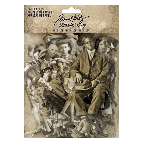Tim Holtz Idea-ology PAPER DOLLS Paperie th93555oc Preview Image
