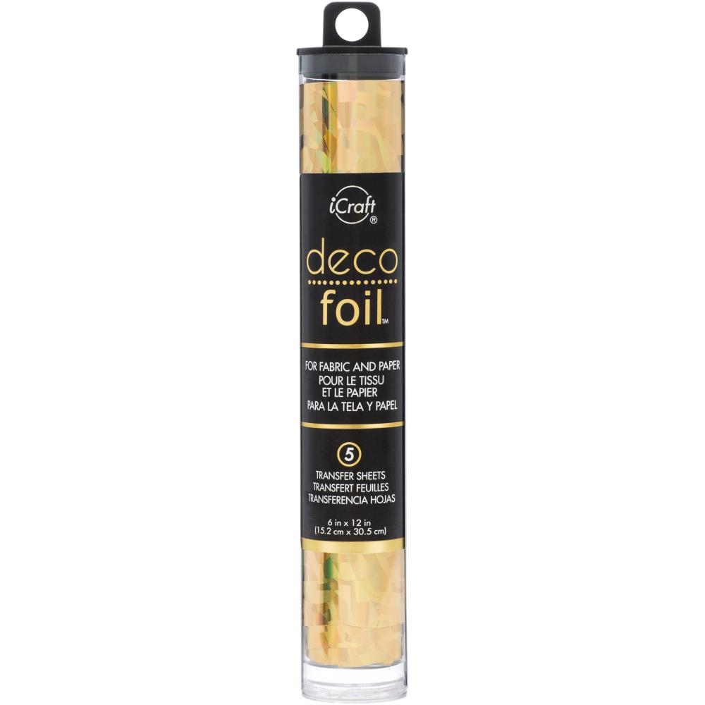 GOLD  Deco Foil Transfer Sheets