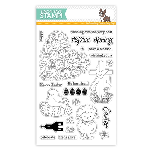 Simon Says Clear Stamps EASTER WISHES sss101839 Preview Image