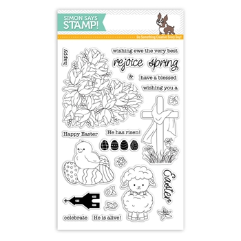 Simon Says Clear Stamps EASTER WISHES sss101839