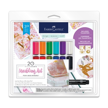 Faber-Castell MARBLING ART For Beginners 770806t*