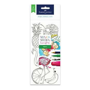 Faber-Castell MIXED MEDIA TRANSFERS TROPICAL 770753