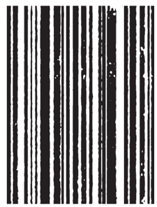 Tim Holtz Rubber Stamp MINI STRIPES p4-1302 Stampers Anonymous zoom image