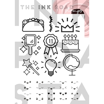 The Ink Road ICONIC Clear Stamp Set inkr021