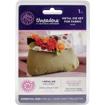 Crafter's Companion ROSE Metal Die Threaders th-md-15*