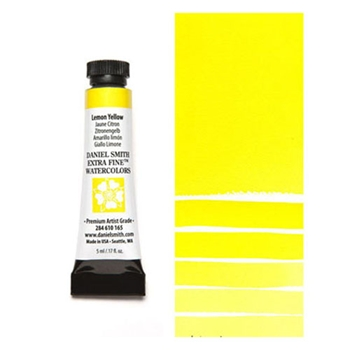 Daniel Smith LEMON YELLOW 5ML Extra Fine Watercolor 284610165