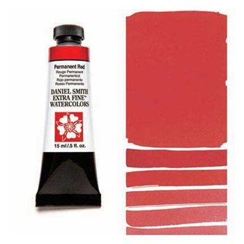 Daniel Smith PERMANENT RED 15ML Extra Fine Watercolor 284600072