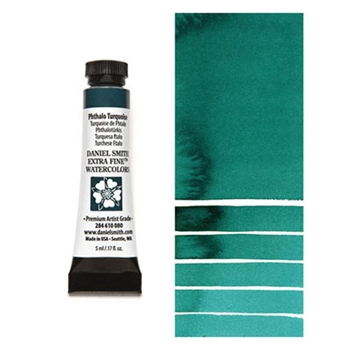 Daniel Smith PHTHALO TURQUOISE 5ML Extra Fine Watercolor 284610080