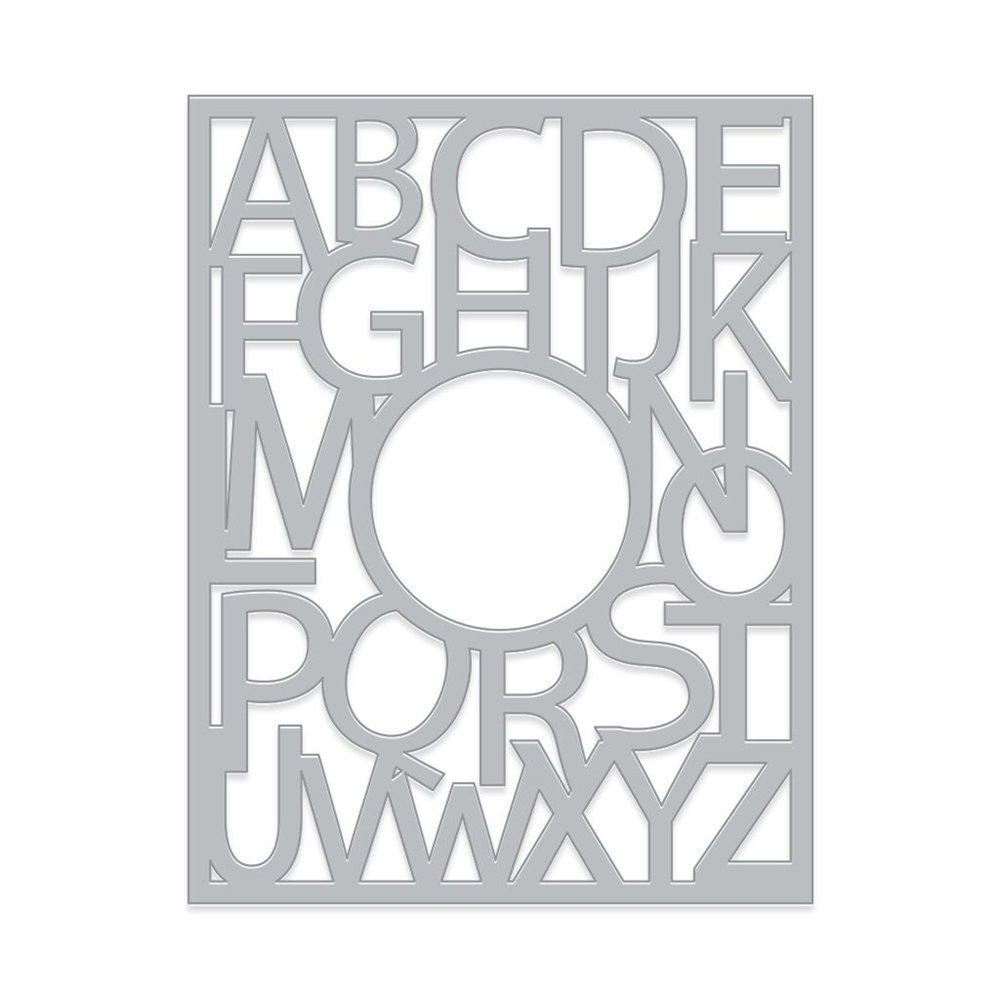 Hero Arts Fancy Die ALPHABET WINDOW DI492 zoom image
