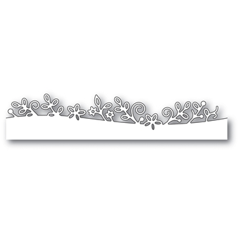 Memory Box BROADSWORTH FLORAL BORDER Craft Die 99986