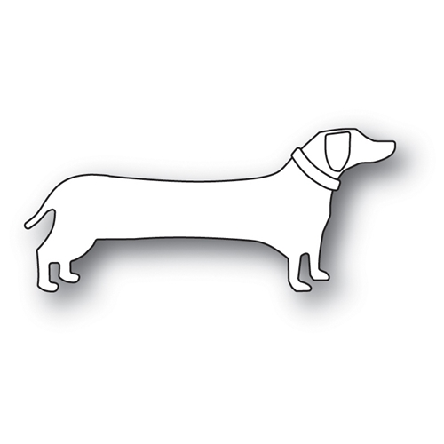 Memory Box LONG DACHSUND Craft Die 99966 Preview Image