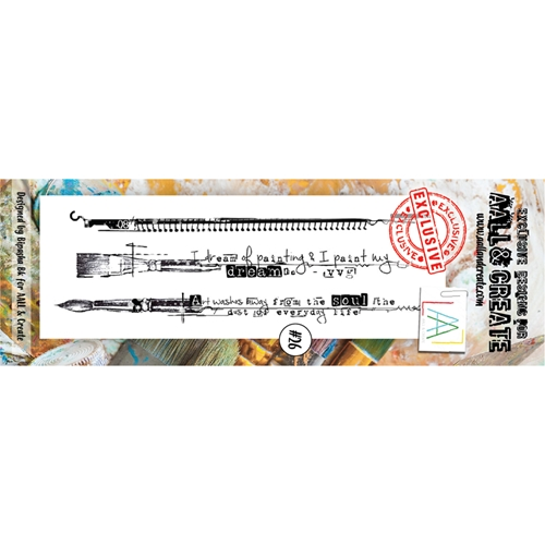 AALL & Create BORDER 26 Clear Stamp aal00026 Preview Image