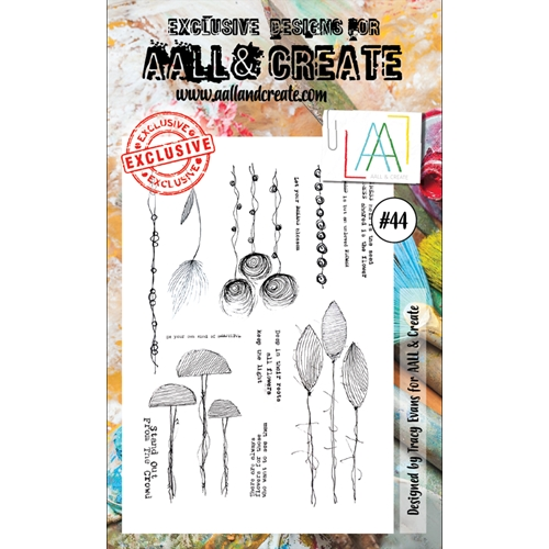 AALL & Create A6 STAMP 44 Clear aal00044 Preview Image