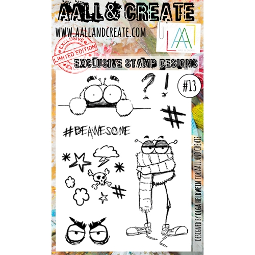 AALL & Create A6 STAMP 13 Clear aal00013 Preview Image