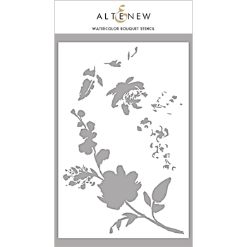 Altenew WATERCOLOR BOUQUET Stencil ALT2196