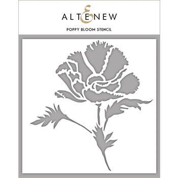 Altenew POPPY BLOOM Stencil ALT2193