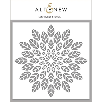 Altenew LEAF BURST Stencil ALT2192