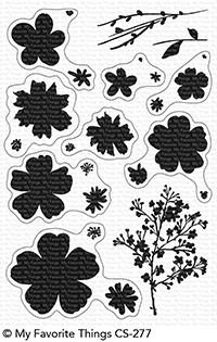 My Favorite Things PRESSED FLOWERS Clear Stamps CS277