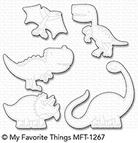 My Favorite Things DELIGHTFUL DINOSAURS Die-Namics MFT1267