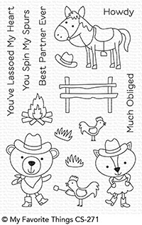 My Favorite Things BEST IN THE WEST Clear Stamps CS271