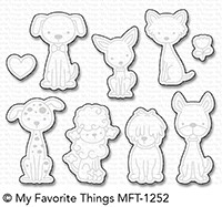 My Favorite Things PUPPY KISSES Die-Namics MFT1252
