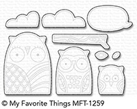 My Favorite Things OWL MY LOVE Die-Namics MFT1259