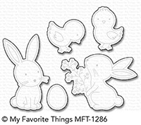 My Favorite Things HOPPY FRIENDS Die-Namics MFT1286
