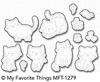 My Favorite Things LOVE YOU FUREVER Die-Namics MFT1279