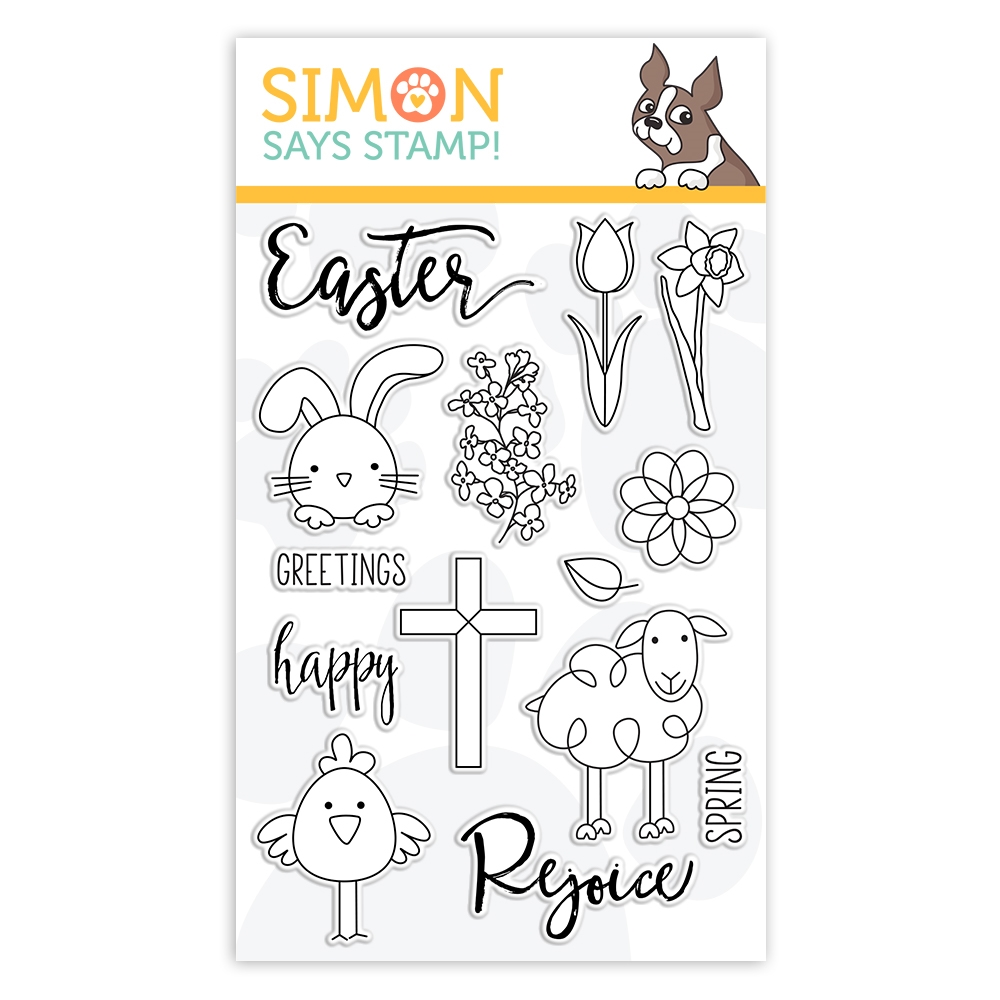 Simon Says Clear Stamps EASTER GREETINGS sss101842 Best Days zoom image